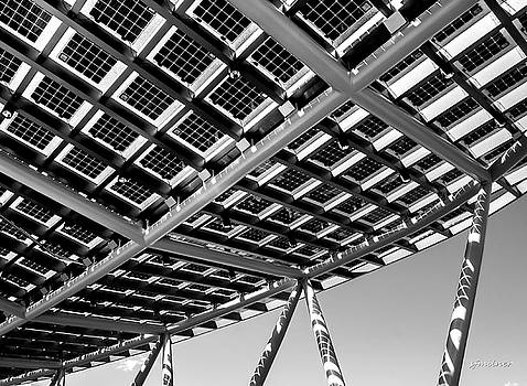 Farming The Sun - Architectural Abstract by Steven Milner