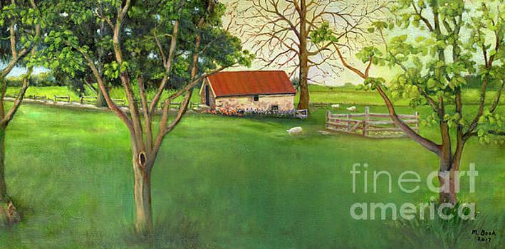 Farmland Scene by Marlene Book