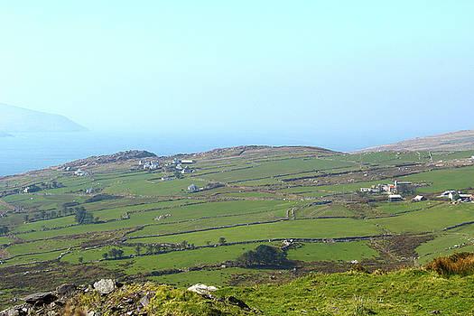 Farms Along the Kerry Coast by Marie Leslie