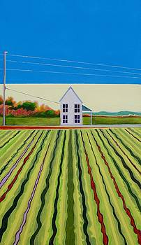 Farmscape on the Grid by Karen Williams-Brusubardis
