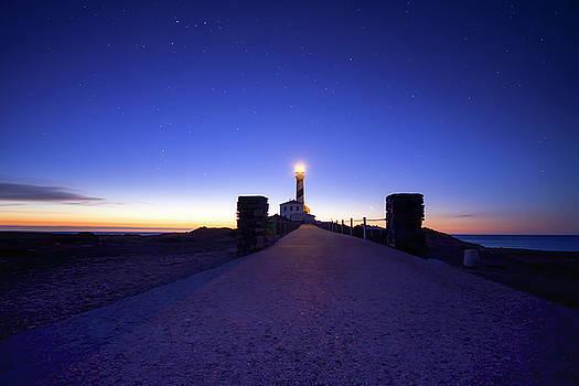 Faro de Cap de Cavalleria, Menorca. by Scott Masterton