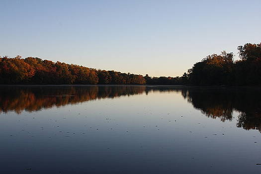 Farrington Lake Autumn by Vadim Levin