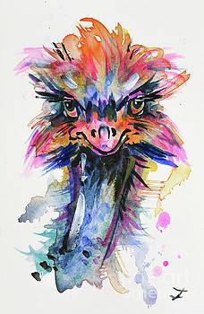 Zaira Dzhaubaeva - Fascinating Ostrich