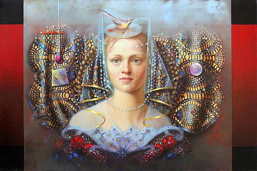 Fascinator by Loretta Fasan