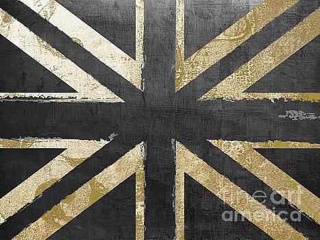 Fashion Flag United Kingdom by Mindy Sommers