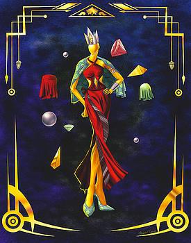 Fashion Goddess Illustration No.1 by Kenal Louis