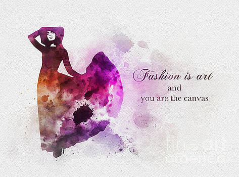 Fashion is Art by Rebecca Jenkins