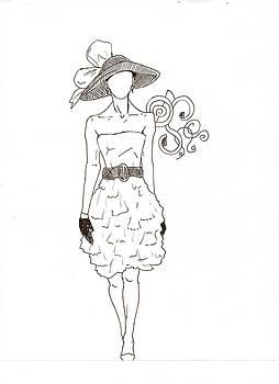 Fashion Sketch by Haley Davis