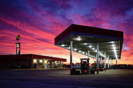 Fast Lane Sunrise by Notley Hawkins