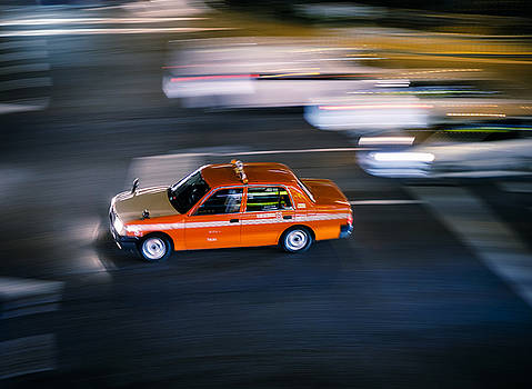 Fast Taxi in Japan by Rich Legg