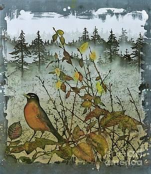 Fat Robins Outside My Windows by Carolyn Doe