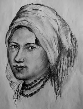 Fata Cu Basma by Covaliov Victor