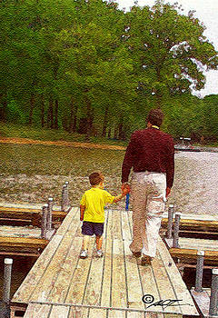 Father and Son by Dale Turner