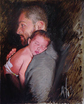 Father and son by Martine Ouellet