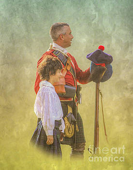 Father and Son Soldiers by Randy Steele