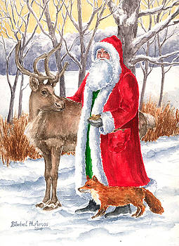 Father Christmas by Barbel Amos