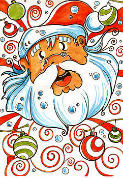 Father Christmas by Luis Peres