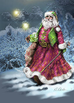 Father Christmas by Roz Paterson