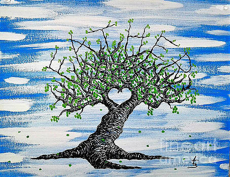 Father Love Tree by Aaron Bombalicki