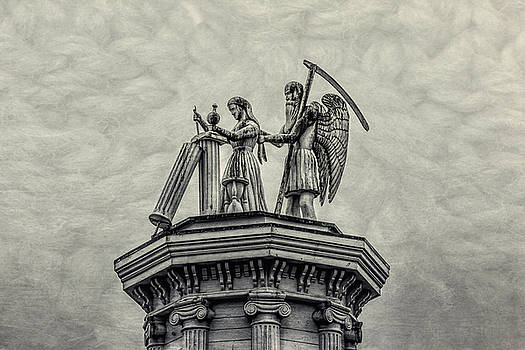 Father Time And The Maiden by Garry Gay