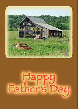 Mother Nature - Fathers Day Old Barn With Advertising