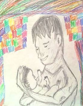 Fathers Love  Me and My Son by Sudheer Raju