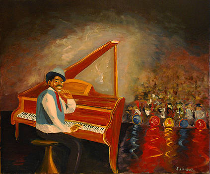 Fats Waller by Brian Hustead