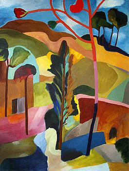 Fauve Landscape by Sarah Whitecotton