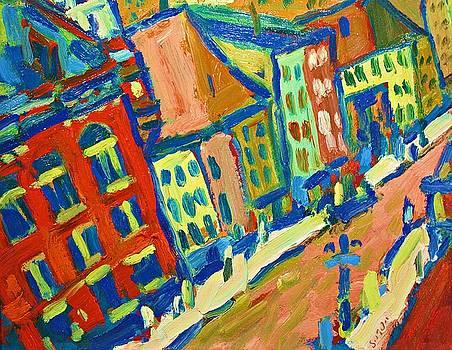 Fauve Town by Brian Simons