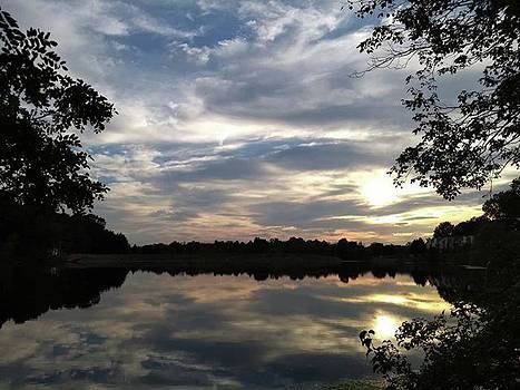 #favoriteplaces #lake #sunset #autumn by Jessica Louis