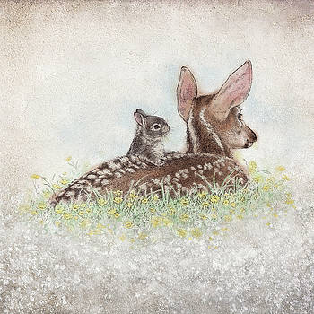 Fawn and Bunny by Laurie Musser