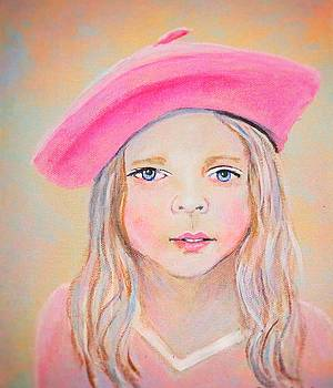 Fayanna Little French Angel of Trust by The Art With A Heart By Charlotte Phillips