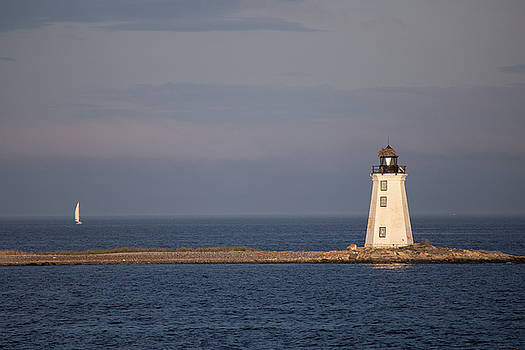 Fayerweather Lighthouse by Stephanie McDowell