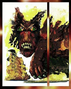 Fear  Demon by Hartmut Jager