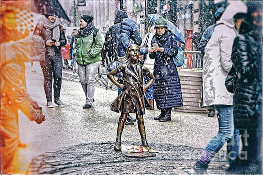 Fearless Girl 2 by Nishanth Gopinathan