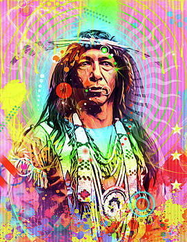 Feather Chief by Gary Grayson