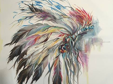 Feather Hawk by Heather Roddy