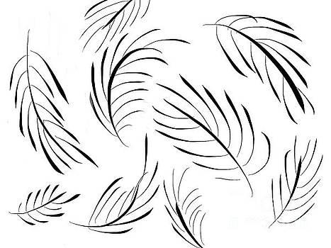 Feather leaves by Go Van Kampen