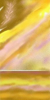 Feather Sun Lake by Julia Woodman