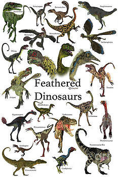 Feathered Dinosaurs by Corey Ford