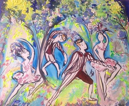 Feathered friends  ballet  by Judith Desrosiers