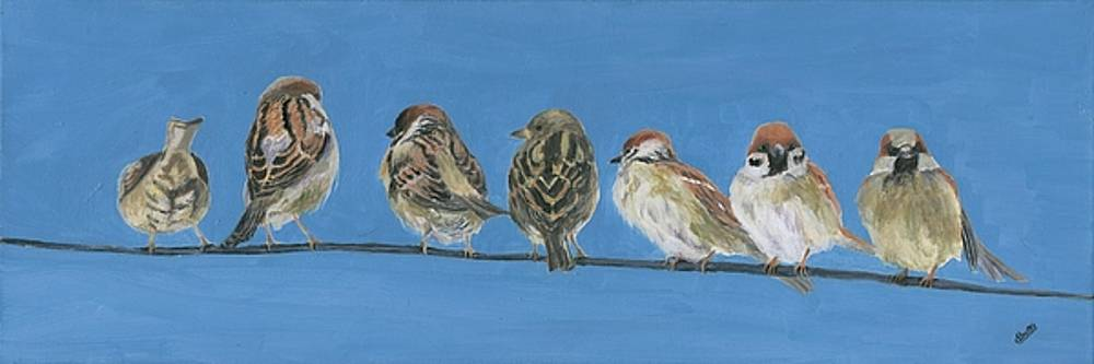 Feathered Friends by Deborah Butts