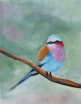 Feathered Friends fourth in series by Julie Lourenco