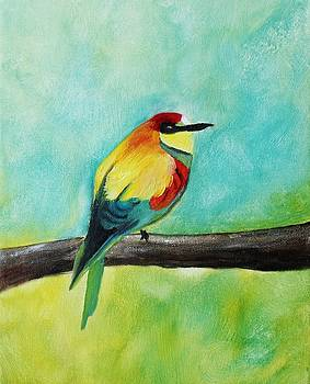 Feathered Friends third in series by Julie Lourenco