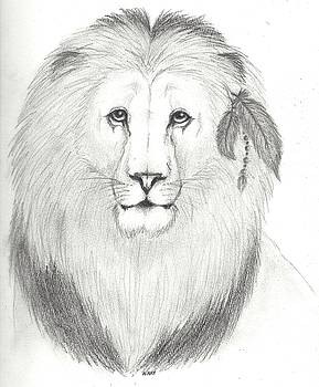 Feathered Lion by Noemi N