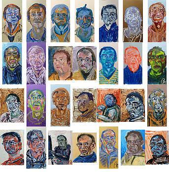 February Bachmors dailyselfportrait  by Bachmors Artist