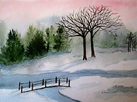 February Dawn by B Kathleen Fannin