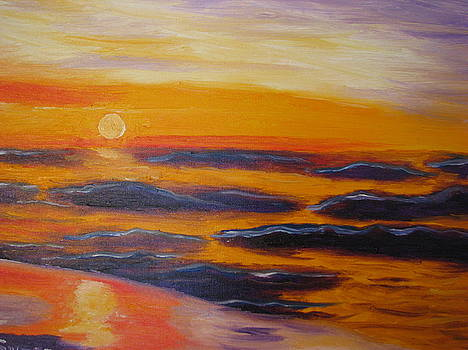 February Sunset by Suzanne Buckland