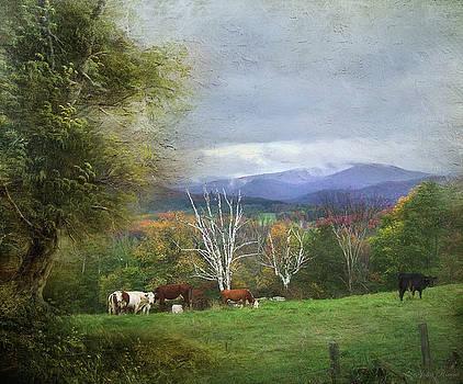 Feeding on a Hillside by John Rivera