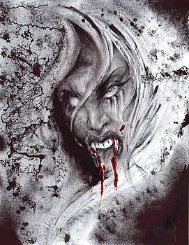 Feeding Vampire  by David Payne